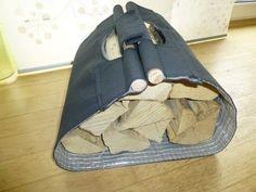 Kaminholztrage - Nähanleitung und Schnittmuster - Nähanleitungen bei Makerist