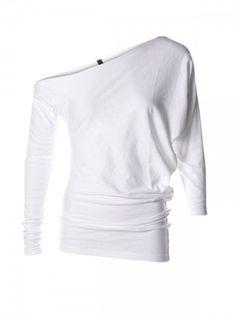 A-sym top white