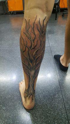 Tree tattoo arvore ink tatuagem nature FREEHANDTATTOO