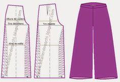 Modistería Básica: * Taller 50 : Pantalón Palazzo dama
