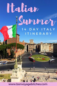 A comprehensive guide to traveling around Italy during summer. Where I stayed, which cities I liked and what surprised me about the whole experience!