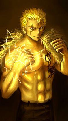Laxus Dreyar - S Class Mage - The Lightning Dragon Slayer