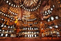 Blue Mosque by Nicholas Ruel i need to see this place