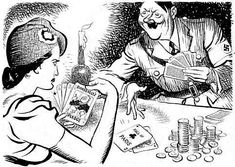 France could do little but capitulate as Paris fell. Roosevelt did not come to its aid. RAW WW2 HISTORY REDEFINED: World War Two In Cartoons By ILLINGWORTH