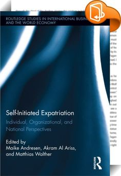 Self-Initiated Expatriation    ::  <P>Globalization and the development of multinational organizations have led to an increase in the number of people spending part of their lives living and working in foreign countries. While the contemporary literature has focused on organizational expatriates sent overseas by their employers, self-initiated expatriation is becoming an important area of study in its own right. Studies on self-initiated expatriation explore the labor market positions ...