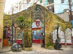 Cuaderno de viajes: Callejón Hamel - Cuba