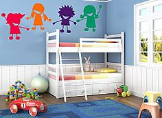 Home Decor Childrens / Kids Bedroom Sun And Clouds Wall Art Stickers (Boys Decal Baby) & Garden Small Bunk Beds, White Bunk Beds, Kids Bunk Beds, Kids Room Wall Decals, Animal Wall Decals, Vinyl Wall Stickers, Wall Art, Bedroom Stickers, Sticker Mural
