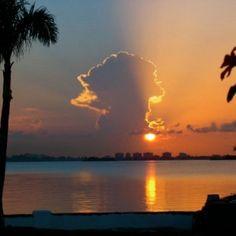 Sundown, Biscayne Bay, FL