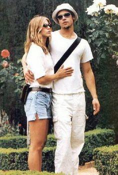 Jennifer Aniston and Brad Pitt early days | People We Like ...