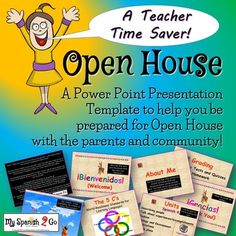 Your school has scheduled an Open House night where the parents get to ...