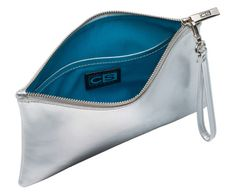 Clare Slater silver pouch - the perfect accessory for any outfit