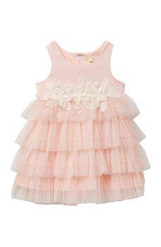 aa2124e9cdf8 Baby Sara - Empire Tulle Tiered Dress (Baby