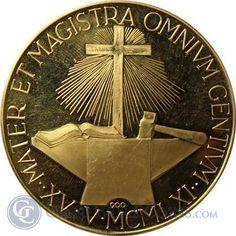 Italy Pope John XXIII Gold - thumbnail Gold And Silver Coins, Pope John, Italy, People, Italia, People Illustration, Folk