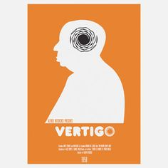 Vertigo 11.7x16.5 now featured on Fab. [Alfred Hitchcock]