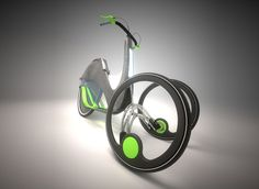 LUMA - Three Wheeled Transportation by Bart Zimmy - LUMA is a three-wheeled vehicle powered by human muscle! Similar to a step-cycle, users simply use the platform for each foot to set the trike in motion. Read more at http://www.yankodesign.com/2014/01/08/this-is-not-a-bike/#TIKlY39mLJRRt2lG.99