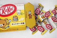 Inspiring image chocolate, food, kawaii, kit kat - Resolution - Find the image to your taste Japanese Snacks, Japanese Sweets, Japanese Food, Cute Snacks, Cute Food, Yummy Food, Japanese Kit Kat, Japanese Candy, Snacks Japonais