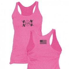 Ladies PT Tank - Pink
