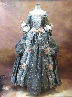 Wholesale Christmas marie antoinette Antoinette Marie Baroque Rococo Ball Gown 17 18th century Prom Dresse, Free shipping, $130.8-207.0/Piece | DHgate
