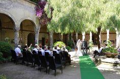 Cloister in Sorrento wedding