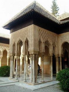 The Alhambra Alhambra Spain, Granada Spain, Islamic Architecture, Amazing Architecture, Portugal, Islamic World, Islamic Art, Built Environment, Moorish