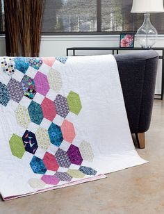 Modern Heritage Quilts: New Classics for Every Generation: Amy Ellis: Modern quilt pattern. affiliate link.
