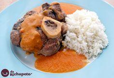 Esta semana va de clásicos, la receta de hoy, Osobuco de ternera. Ossobuco a la milanesa http://www.recetasderechupete.com/osobuco-de-ternera-ossobuco-a-la-milanesa/11222/ #receta #derechupete
