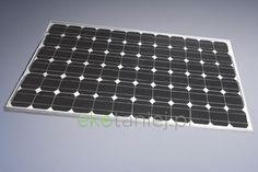 Ogniwo słoneczne monokrystaliczne o mocy 190W
