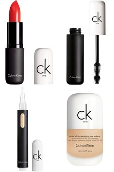 """""""After a long day and before going out, I wear this concealer to make my skin glow before I apply my make up."""" ck one 3-in-1 concealer, $20, ulta.com.  """"This is the foundation I wore last NYFW. I would highly reccomend it to eveyone whose skin is sensitive like mine."""" ck one all day perfection face make-up platinum, $30, ulta.com.  """"I love to highlight my eyes and make my eyelashes voluminous with this great mascara.""""  ck one volumizing mascara, $18, ulta.com.  """"The perfect lipstick for a…"""