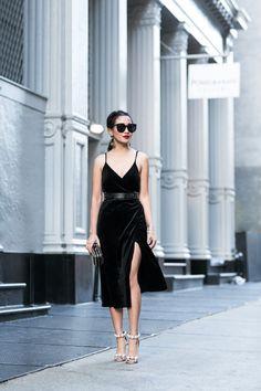 237d60d1da8 Velvet Love    Textured blazer   Midi wrap dress