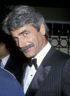 Actor Sam Elliott attends the Annual People's Choice Awards - After Party on March 1986 at L'Ermitage Restaurant in Hollywood, California. Sam Elliott Pictures, 3 4 Face, Katharine Ross, Star Wars, Thing 1, Raining Men, Good Looking Men, Famous Faces, Gorgeous Men