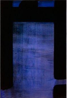 Gouache vinylique sur papier 109 x 73 cm, 1977 Abstract Art Painting, Art Painting, Artist Inspiration, Abstract Painting, Painting, Blue Art, Abstract Art, Abstract, Contemporary Art