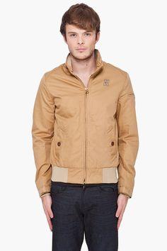 G_star Beige Fleet Jacket  $115.00