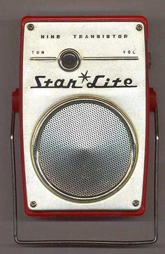 Star Lite shirtpocket transistor radio