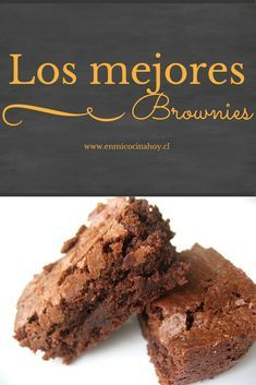Tienes que probarlos. Brownie Cookies, Chocolate Chip Cookies, Blondie Brownies, Chocolate Desserts, Oatmeal Cookie Recipes, Brownie Recipes, Cupcakes, Cupcake Cakes, Baking Recipes