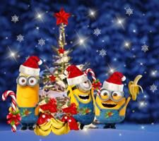 christmas kitchen done brown - Yahoo Image Search Results Minions Bob, Cute Minions, Minion Jokes, Minions Despicable Me, Minions Quotes, Funny Minion, Merry Christmas Minions, Christmas Quotes, Christmas Time