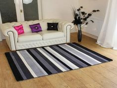 inexpensive rugs for living room neutral with dark brown couches 9 best images affordable cheap grey striped wool patterned carpet rug inspiration stripes