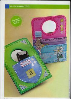 Resultado de imagen para manualidades para el dia de la madre para vender Foam Crafts, Diy Crafts, Folded Cards, Tapas, Fathers Day, Coin Purse, Lunch Box, Projects To Try, Classroom