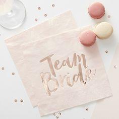 jga servietten team bride