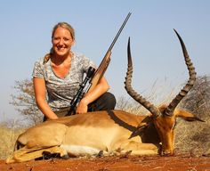 "19 Likes, 1 Comments - Riebelton Safaris (@riebelton_safaris) on Instagram: ""2015 Hunting highlights: Svenja with her PHASA Silver medal trophy Impala - having guided her…"""