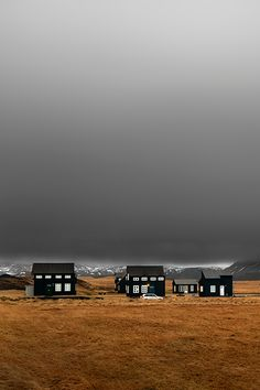 of black houses, iceland. (photo by yury pustovoy)