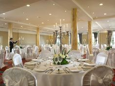 Ballyvaughan Wedding Suite at Galway Bay Hotel in Salthill, Galway.