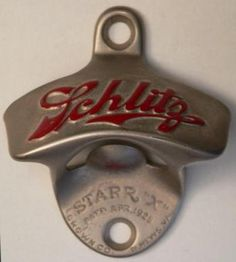 Vintage Schlitz Beer Bottle Opener