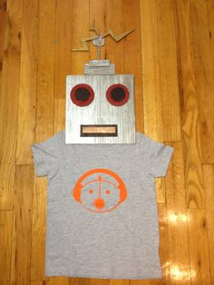Sam the Robot Children's TShirt by TheVintageRobot on Etsy, $14.99