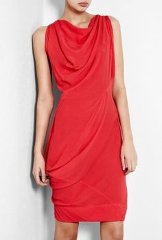 Red Fond Dress by Vivienne Westwood Anglomania