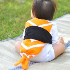 Learn how to make this sushi Halloween costume for your child.