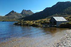 Lake Dove & Cradle Mountain, Tasmania, AUSTRALIA. by paulhypnos, via Flickr
