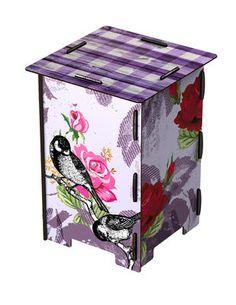 MIHO Hocker aus Holz Rose Garden kaufen