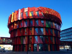 """""""Kuggen"""" - the Sprocket, Chalmers bibliotek, Göteborg / Gothenburg"""