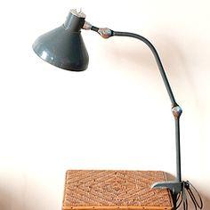 Lampe industrielle JUMO GS2 articulée 60's