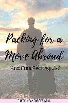 One of the hardest parts of moving abroad is packing. But worth it for your new, simpler life abroad. Here's my best tips on packing for a move abroad! Packing To Move, Packing List For Travel, Packing Lists, Ways To Travel, Travel Tips, Travel Hacks, Budget Travel, Time Travel, Europe Budget